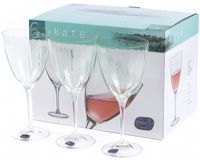 "Бокал для вина стеклянный ""Kate"" (6 шт.; 400 мл; арт. 40796/382066/22/400)"
