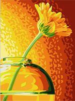 "Картина по номерам ""Желтая гербера"" (300х400 мм)"