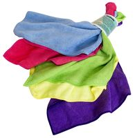 Набор салфеток для уборки из микрофибры (5 шт.; 300х300 мм)