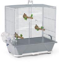 """Клетка для птиц """"Primo 30"""" (40x24x42 см; серебристая)"""
