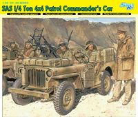 "Набор миниатюр ""SAS 1/4 Ton 4x4 Patrol Commander`s Car"" (масштаб: 1/35)"