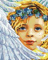 """Картина по номерам """"Ангел"""" (500х400 мм)"""