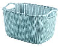 """Корзина """"Knit L"""" (синяя)"""