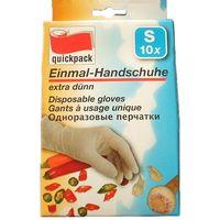 Перчатки хозяйственные резиновые (S; 10 шт.)