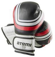 Перчатки боксёрские LTB-16101 (S/M; чёрные; 8 унций)