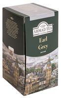 """Чай черный """"Ahmad Tea. Эрл Грей"""" (25 пакетиков; саше)"""