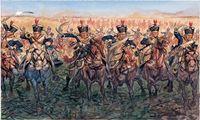 """Набор миниатюр """"Британская легкая кавалерия"""" (масштаб: 1/32)"""