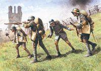 Германские штурмовые части 1917 -18г. (масштаб: 1/35)