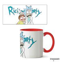 "Кружка ""Рик и Морти"" (655, красная)"