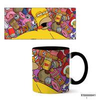 """Кружка """"Симпсоны"""" (411, черная)"""
