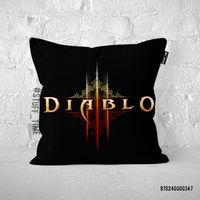 """Подушка """"Diablo"""" (арт. 347)"""