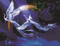 "Картина по номерам ""Фантазийные птицы"" (500x650 мм; арт. MMC023)"