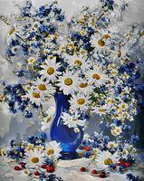 "Картина по номерам ""Любимые цветы"" (400х500 мм)"