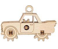 """Сборная деревянная модель """"Брелок. Автомобиль"""""""