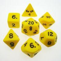 """Набор кубиков """"Опак"""" (7 шт, 5 цветов)"""