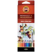 """Акварельные карандаши """"Mondeluz"""" (18 цветов)"""