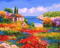 """Картина по номерам """"Солнечный Прованс"""" (400х500 мм, арт. 807-AB-C)"""