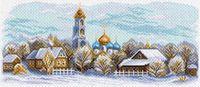 """Канва с нанесенным рисунком """"Сергиев Посад"""""""