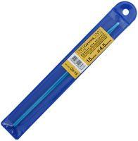 Крючок для вязания (синий; металл; 4.5 мм)