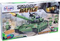 """Конструктор """"Tank Battle. Боевой танк"""" (456 деталей)"""
