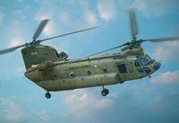 "Транспортный вертолет ""CH-47D Chinook"" (масштаб: 1/48)"
