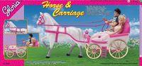 "Набор для кукол ""Лошадка и карета"""
