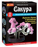 """Набор для выращивания кристаллов """"Японский сад кристаллов. Сакура"""""""