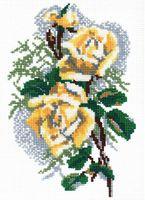 """Вышивка крестом """"Роза"""" (220x140 мм)"""
