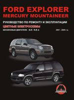 Ford Explorer / Mercury Mountaineer 2001-2005 г. Руководство по ремонту и эксплуатации