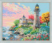 """Картина по номерам """"Утром на побережье"""" (400х500 мм)"""