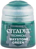 """Краска акриловая """"Citadel Technical"""" (waystone green; 12 мл)"""