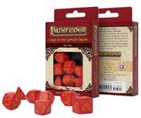 """Набор кубиков """"Pathfinder. Curse of the Crimson Throne"""" (7 шт.; красно-желтый)"""