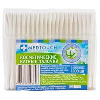 """Ватные палочки """"Medtouch"""" (пакет; 200 шт.)"""