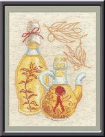 """Вышивка крестом """"Кухонная миниатюра"""" (150x200 мм; арт. 488В)"""