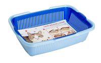 Туалет для кошек пластмассовый (36х26х9 см)