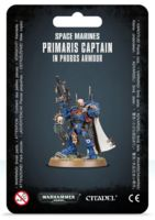 Warhammer 40.000. Space Marines. Primaris Captain in Phobos Armour (48-68)