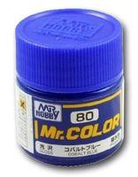Краска Mr. Color (cobalt blue, C80)