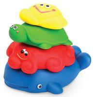 """Набор игрушек для купания """"Морская пирамидка"""" (4 шт)"""