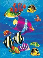 "Картина по номерам ""Тропическое море"" (300х230 мм)"