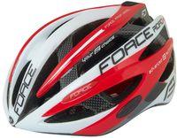"""Шлем велосипедный """"Road Pro Junior"""" (бело-красный; р. XS-S)"""