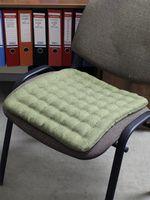 "Подушка на стул ""Ecology"" (40х40 см; темно-зеленая)"