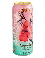 """Чай холодный зеленый """"AriZona. C персиковым соком"""" (680 мл)"""