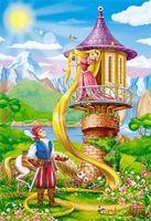 """Пазл """"Волшебный мир. Рапунцель"""" (247 элементов)"""