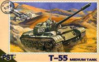 Средний танк Т-55 (масштаб: 1/72)