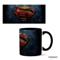 "Кружка ""Супермен"" (421, черная)"