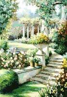 """Алмазная вышивка-мозаика """"Цветочный сад"""""""