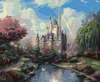 "Картина по номерам ""Сказочный замок"" (400х500 мм; арт. G106)"