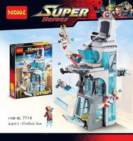 """Конструктор """"Super Heroes. Башня для героев"""" (511 деталей)"""