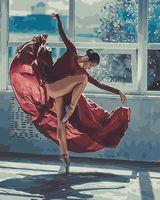 """Картина по номерам """"Яркий танец"""" (400х500 мм)"""