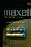 Батарейка AA LR06 Maxell Super Alkaline (2 шт.)